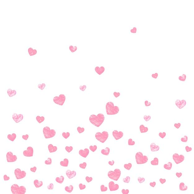 Gold glitter confetti with dots, invitation template Premium Vector