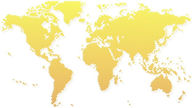 Gold halftone world map vector premium download gold halftone world map premium vector gumiabroncs Image collections