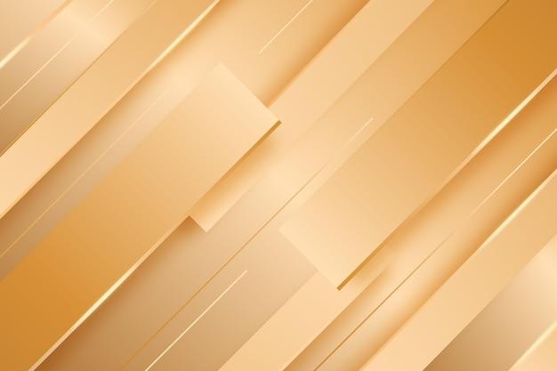 ゴールドの豪華な背景のコンセプト 無料ベクター