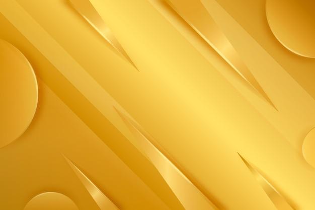 ゴールドの豪華な背景のテーマ 無料ベクター