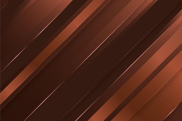 갈색 라인 골드 럭셔리 배경 프리미엄 벡터