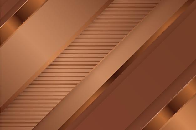 Золотой роскошный фон с косыми линиями Бесплатные векторы