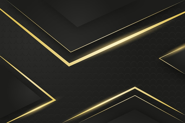 Gold luxury background Free Vector