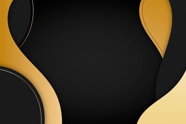 Золотой роскошный фон Бесплатные векторы