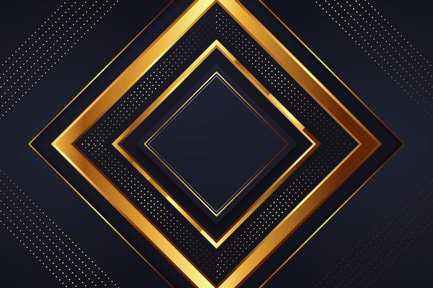 Sfondo di lusso oro Vettore gratuito