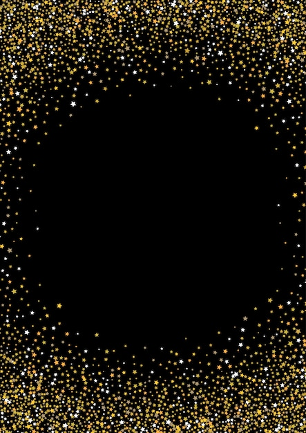 Gold star background Free Vector