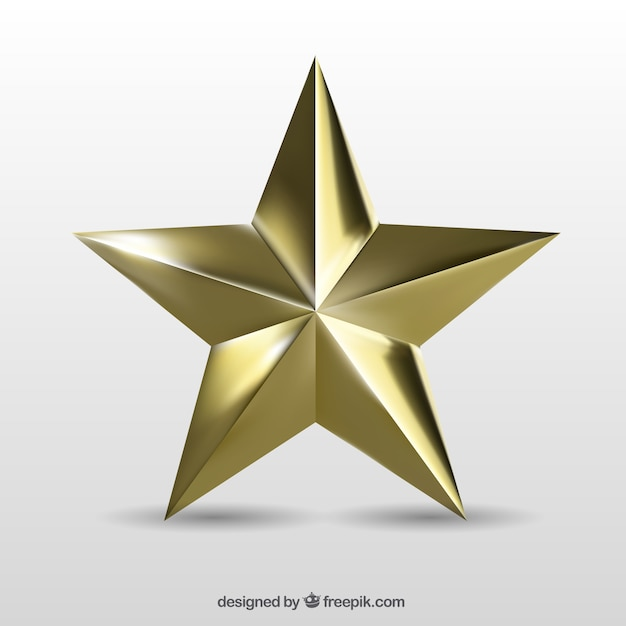gold star vector free download