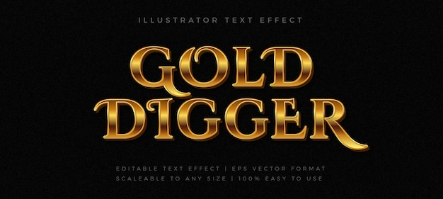 Золотой винтажный стиль шрифта Premium векторы