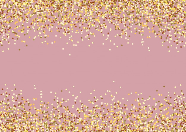 Golden background celebration Premium Vector