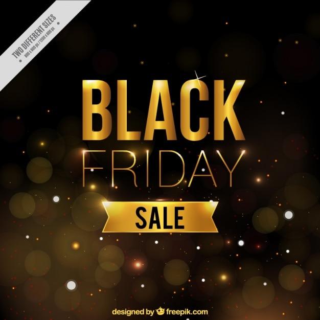 Golden background for black friday Vector | Free Download