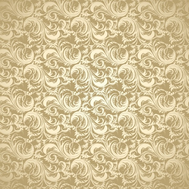 Golden decorative background vector free download for Background decoration images