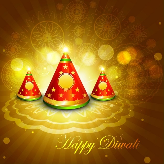 Golden diwali greeting vector free download golden diwali greeting free vector m4hsunfo