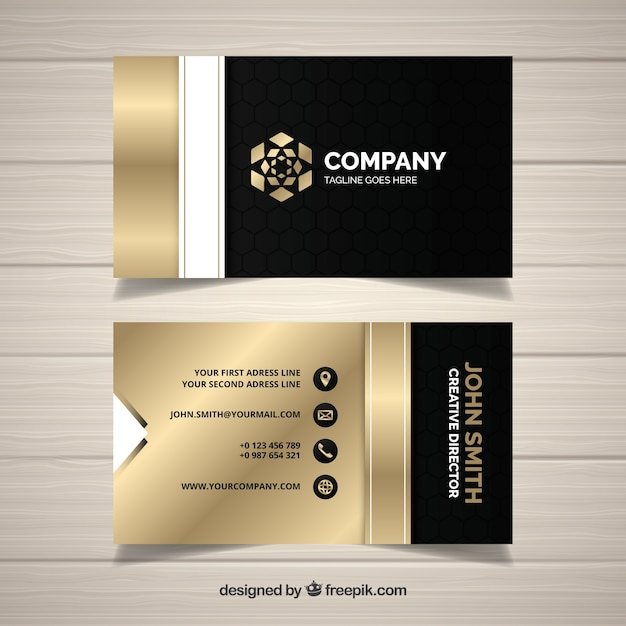 Material Design Business Card Psd