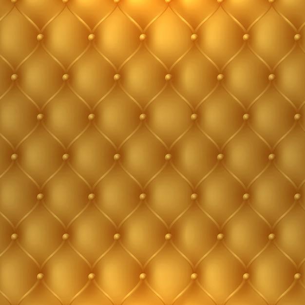 Золотой обивочные ткани текстуры кабины можно использовать как роскошь или премиум фоне приглашения Бесплатные векторы