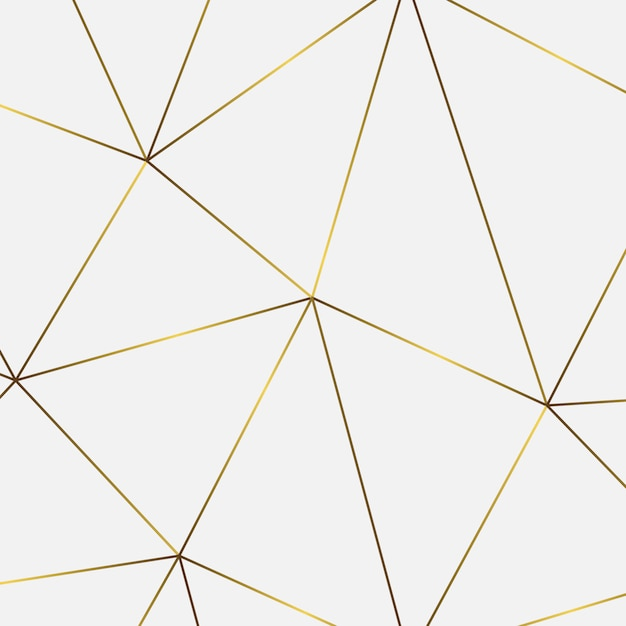 Golden geometric abstract pattern. template for  birthday, wedding, anniversary,  business cards design Premium Vector