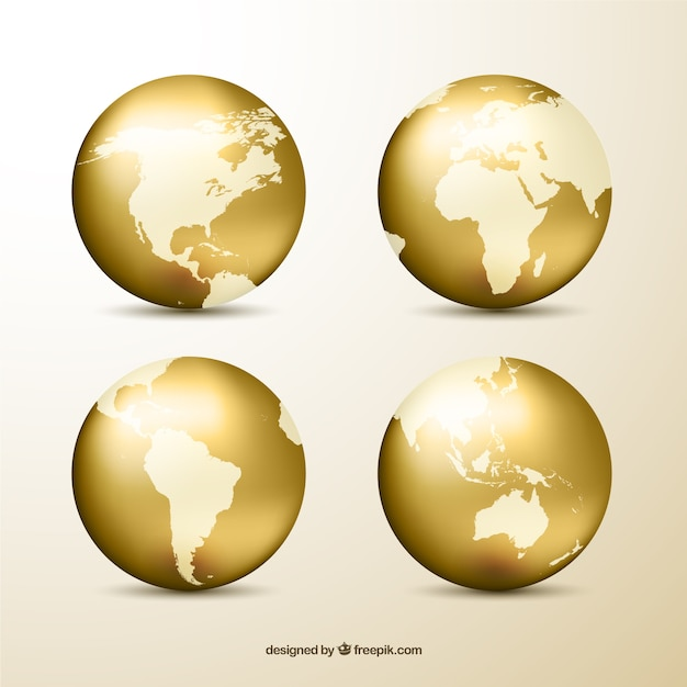 Globe vectors photos and psd files free download golden globes gumiabroncs Gallery
