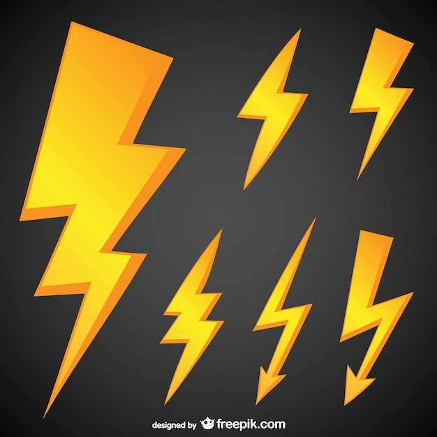 Thunderbolt Vectors Photos And Psd Files Free Download