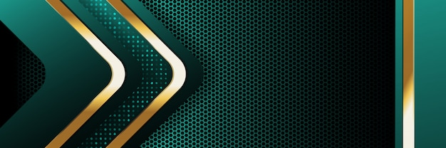 Golden luxury light color backdrop background Premium Vector
