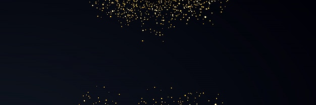 Golden luxury light color background Premium Vector