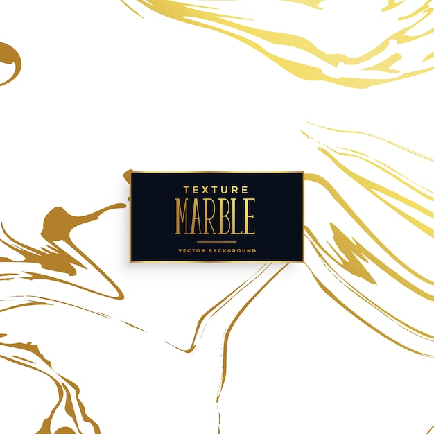 Golden marble texture effect background Free Vector