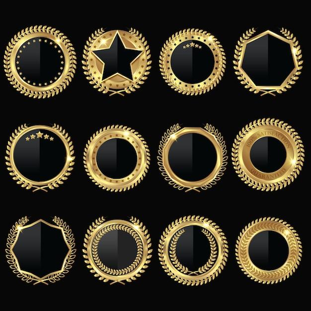 Золотая медаль Бесплатные векторы