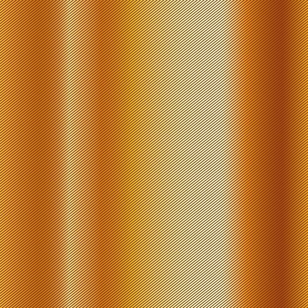 Golden metallic background Premium Vector