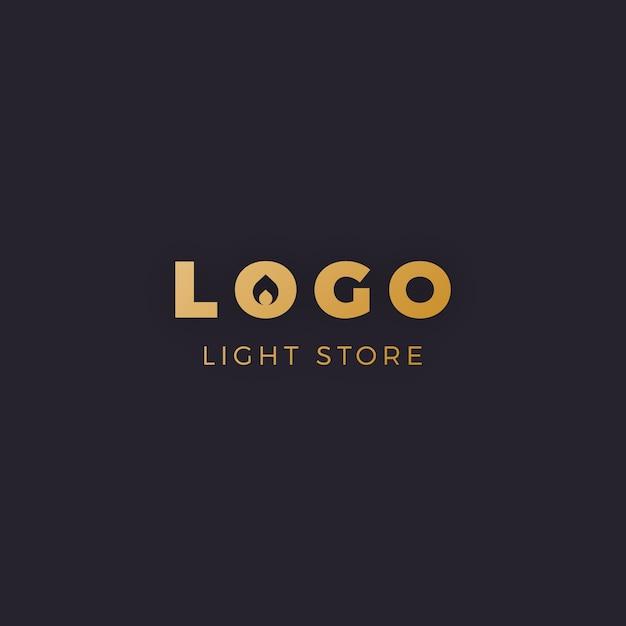 Золотой минималистичный логотип мебели Бесплатные векторы