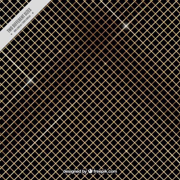 Net background d'oro Vettore gratuito