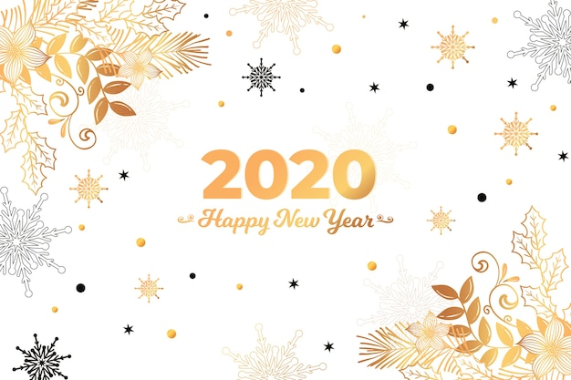 free vector golden new year 2020 background free vector golden new year 2020