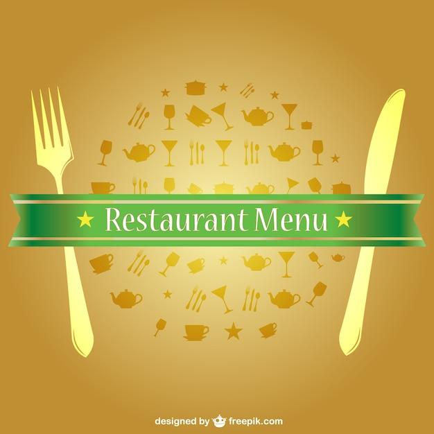 download vector golden restaurant menu vectorpicker