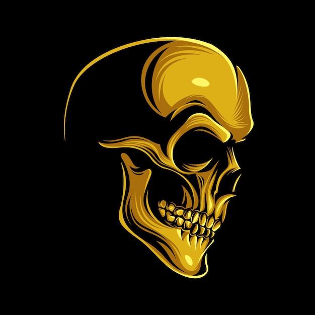 золотой череп картинка появилась мысль