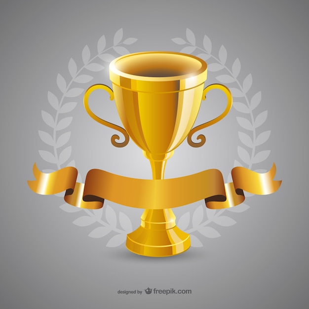 Golden Trophy Free Vector