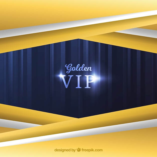 Golden vip abstract background