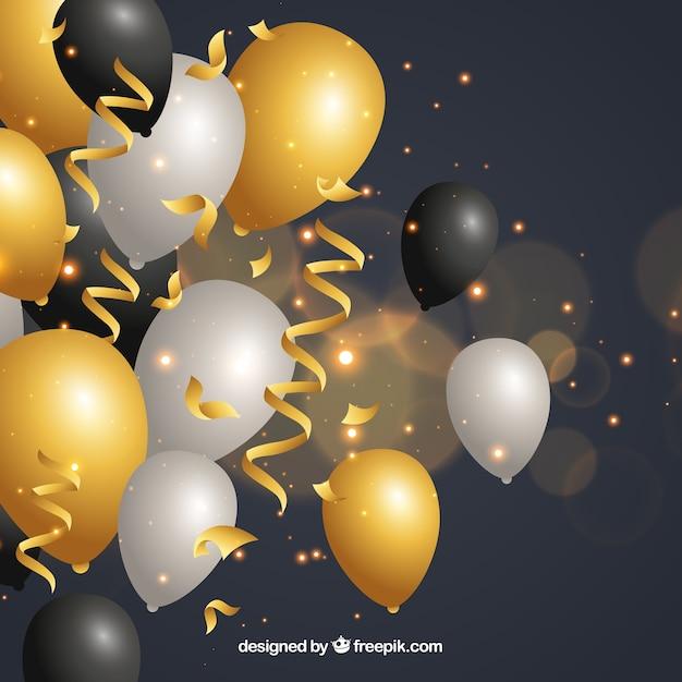 Открытки с желтыми шарами