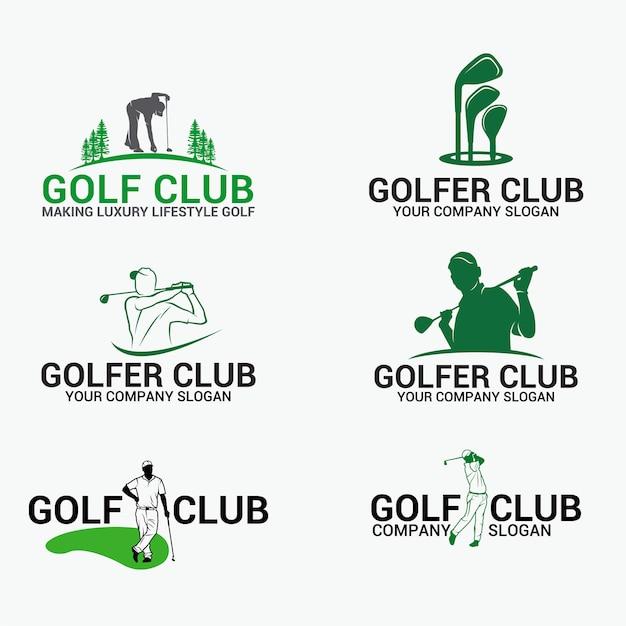 Golf 1 Premium Vector