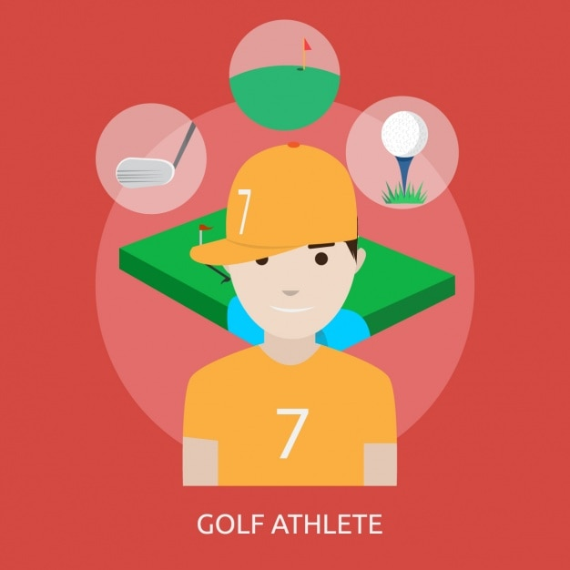 Golf athlete design