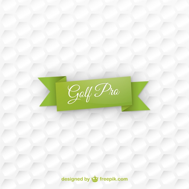 Golf ball texture background