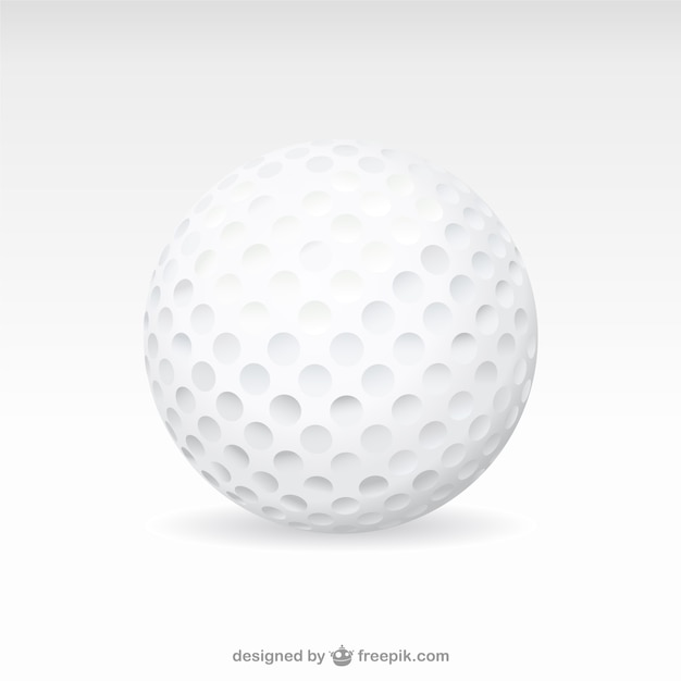 golf ball vector | free download
