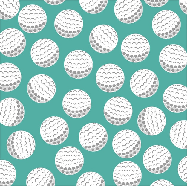 Golf club sport game graphic Premium Vector