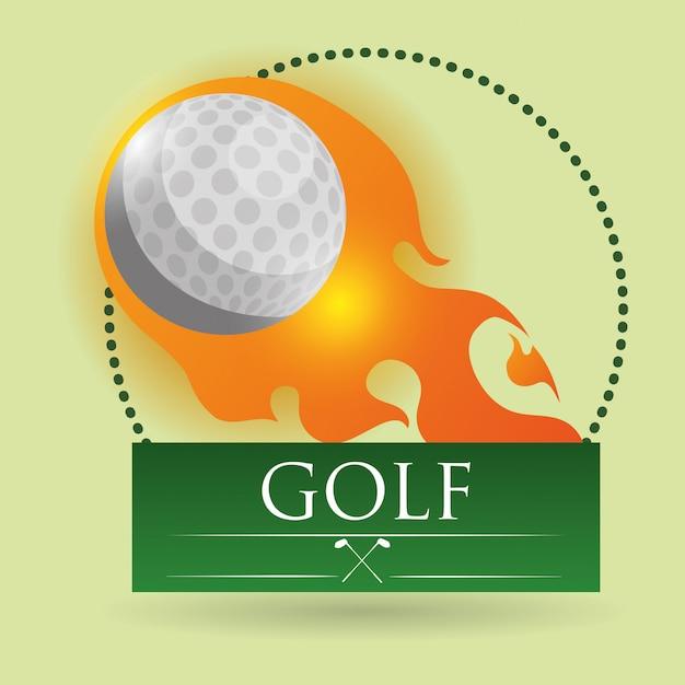 Golf design Premium Vector