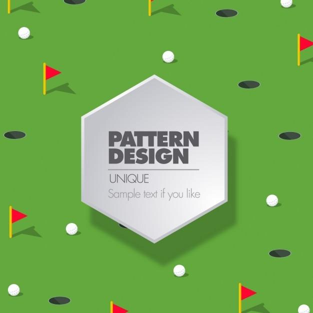 Golf pattern design