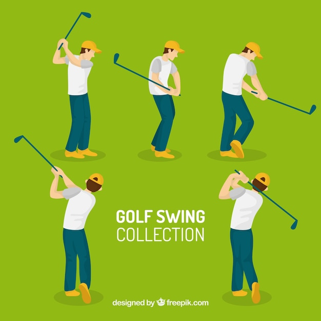 Golf swing collection of five