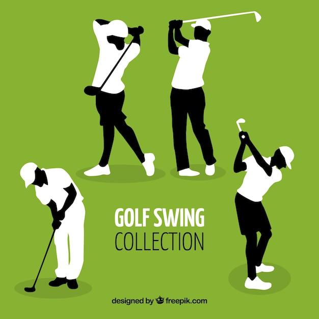 Golf swing set