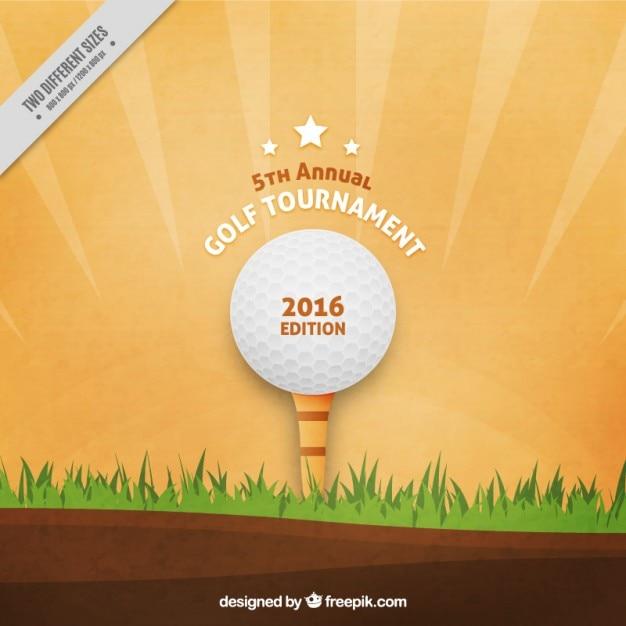 Golf tournament background