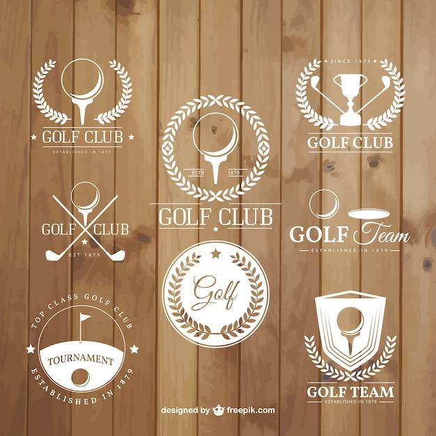 Golf tournament badges