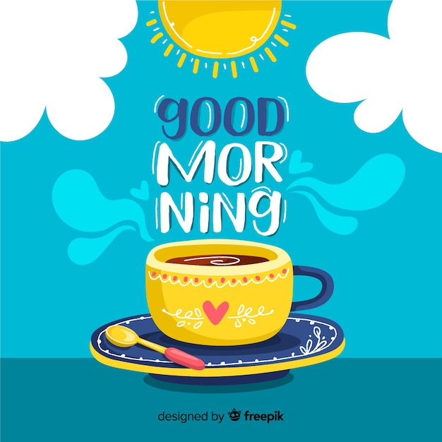 Good Morning Vectors, Photos and PSD files   Free Download