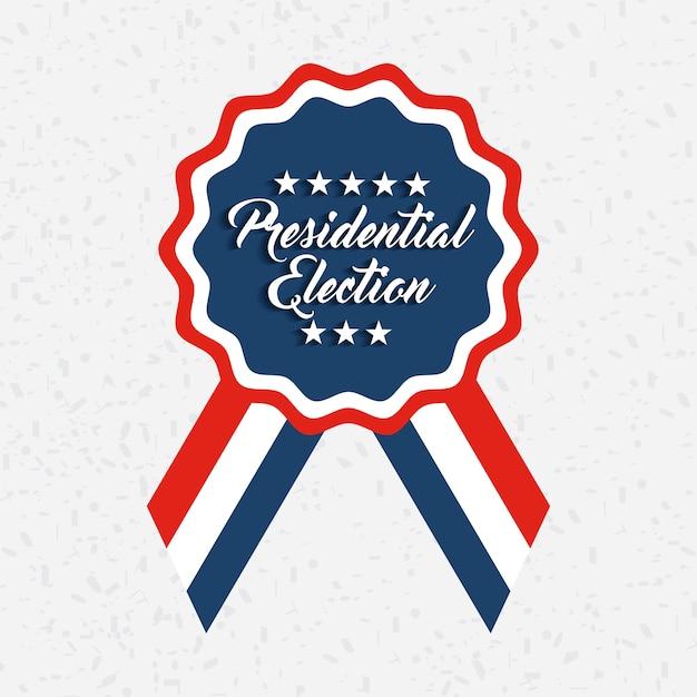 政府選挙のデザイン Premiumベクター