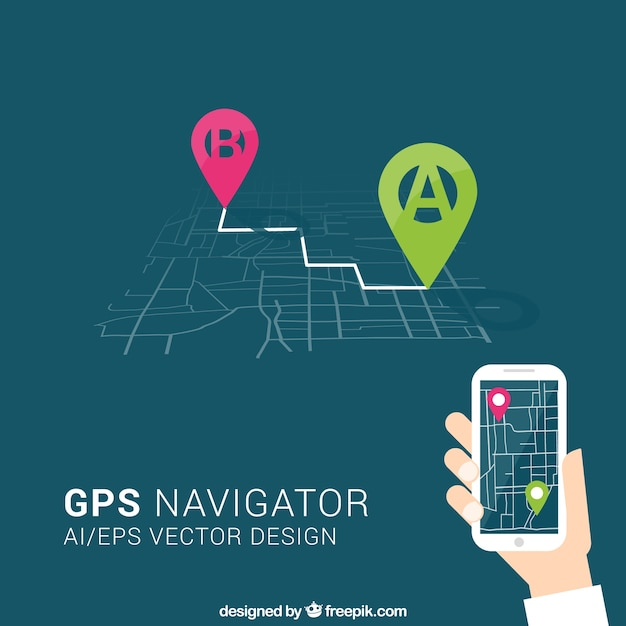 Gps-навигатор Бесплатные векторы