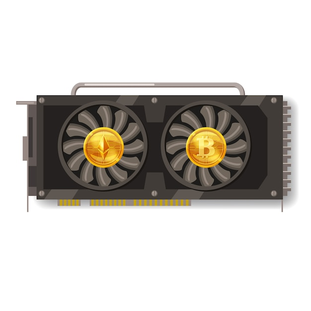 why does mining cryptocurrency require video cards