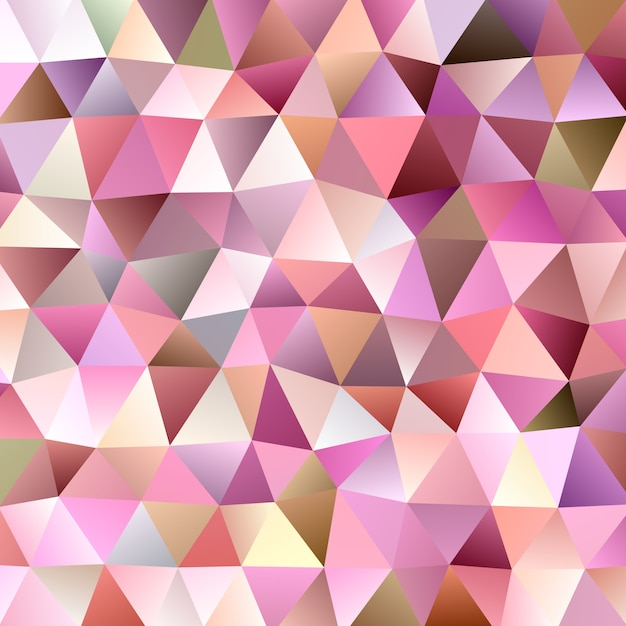 Gradient abstract triangular background template Premium Vector